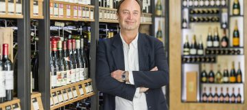 The new CEO of Majestic Wine, in their Mayfair store. London, UK 09 Apr 2015.