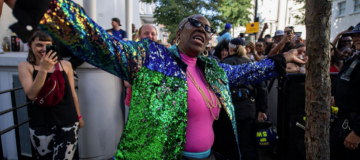 Notting Hill Carnival's 'Dancing Granny' gets underwear deal
