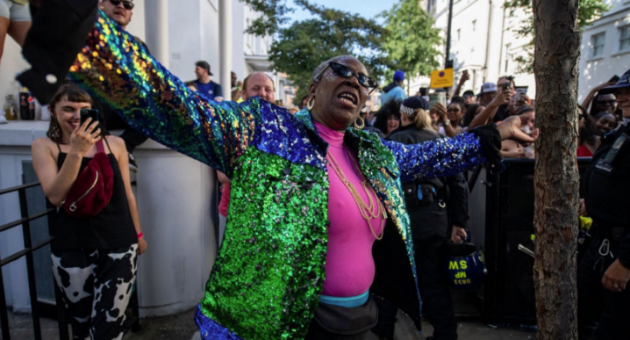 Notting Hill Carnival's 'Dancing Granny' signs underwear deal with Sloggi after video goes viral