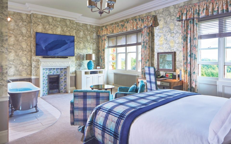 A room at The Spa at South Lodge