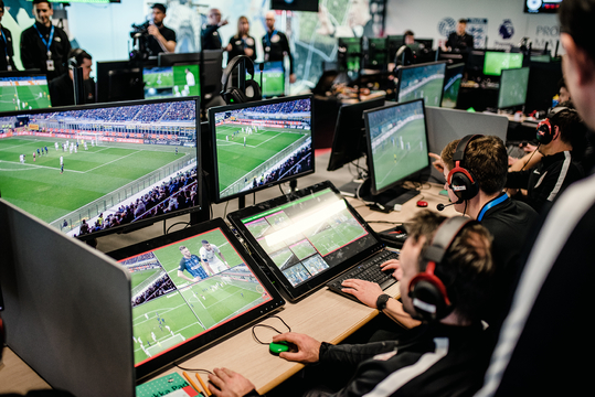 The VAR team at Stockley Park consists of the video assistant referee, an assistant VAR and a replay technician. Credit: Alex Wallace Photography/Premier League