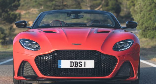 The Aston Martin DBS Superleggera Volante is the best looking car in town – and boy is it a rush