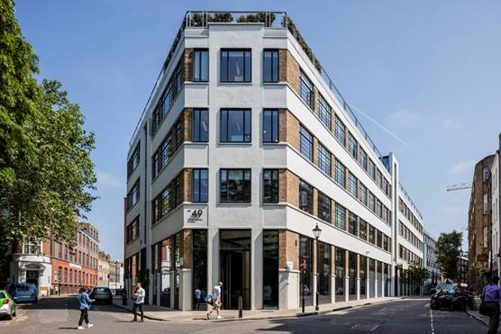 Derwent London sells Clerkenwell office block for £103m