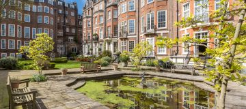 Property of the week: This West End flat gets you a pass to one of Mayfair's secret gardens