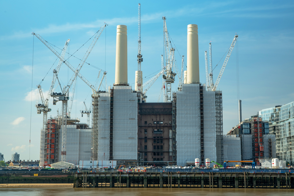 Battersea Power Station secures £600m funding for regeneration project