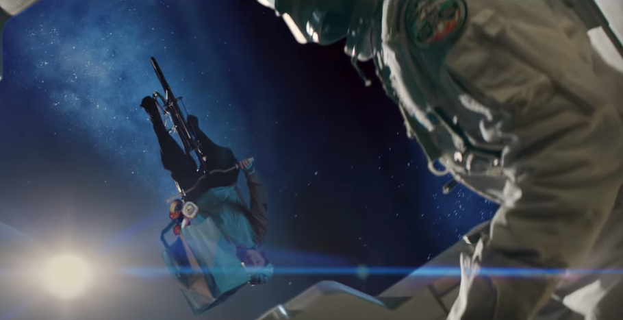 Deliveroo ad banned for claiming it could deliver to space