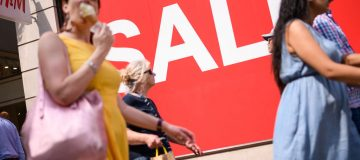 Retail footfall drops again in August as economy slows