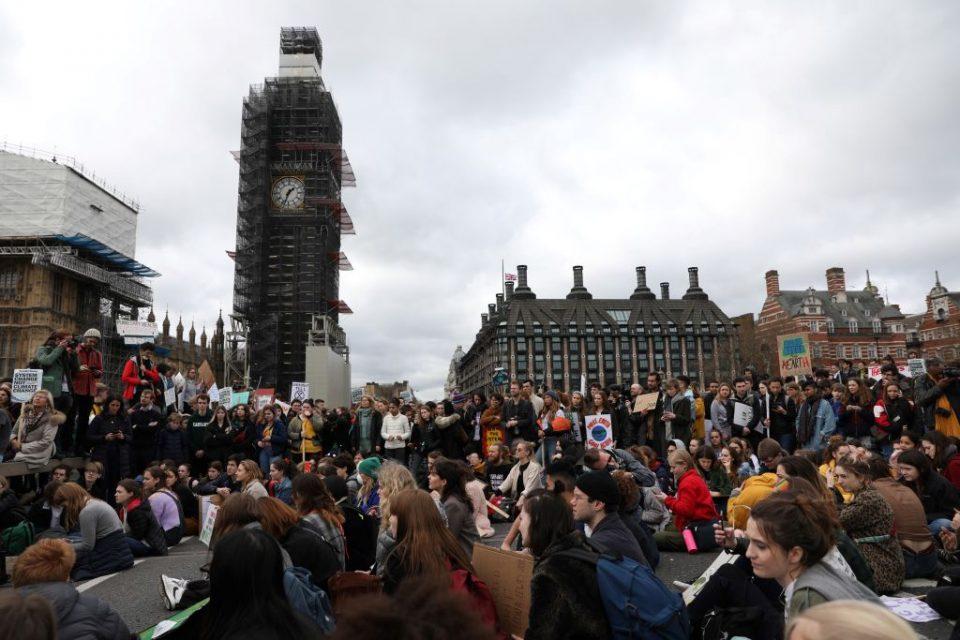 London climate strikes