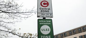 The Ulez zone came into effect in April