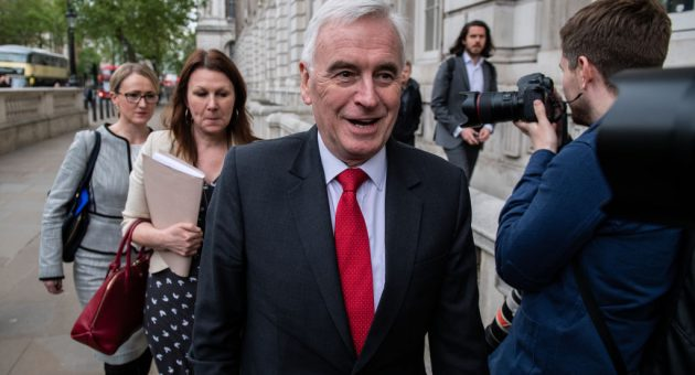 John McDonnell poised to back widening of UK financial transactions tax