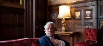 Former speaker and badly-dressed politician John Bercow