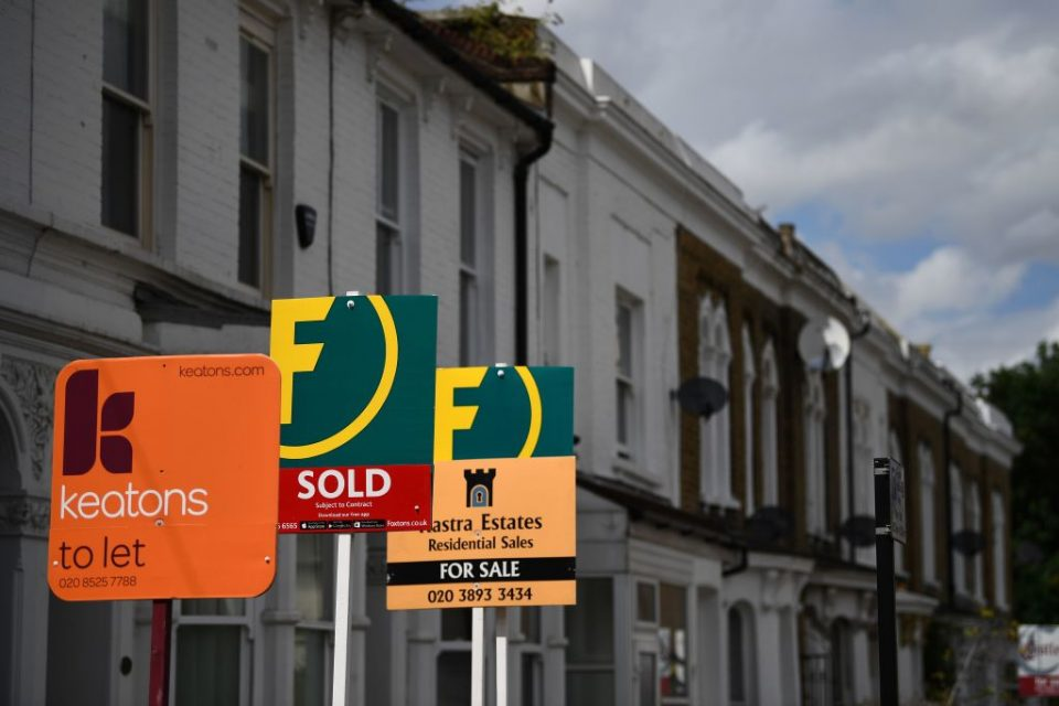 UK house prices see first September fall for nine years