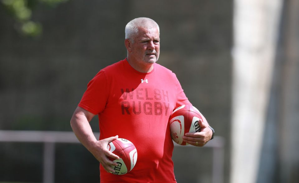 Liam Williams NATERS, SWITZERLAND - JULY 20: Warren Gatland, the Wales head coach looks on during the Wales pre Rugby World Cup training match on July 20, 2019 in Naters, Switzerland. (Photo by David Rogers/Getty Images)