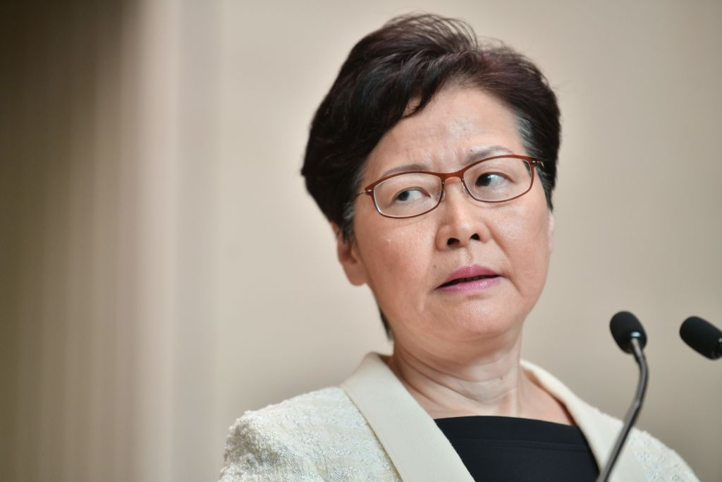 Hong Kong leader: China 'respects and supports' withdrawal of extradition bill