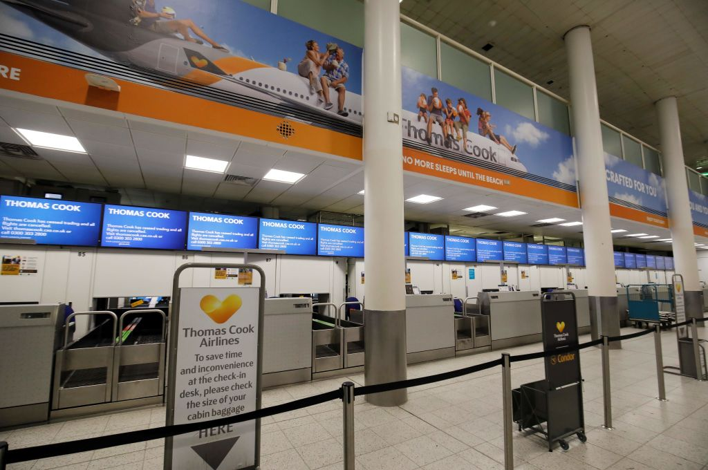 Thomas Cook collapse set to net hedge funds millions - CityAM