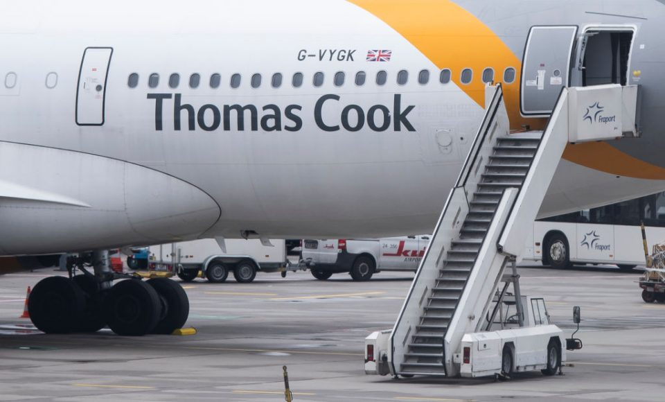 Thomas Cook lives on in name as Chinese firm buys assets