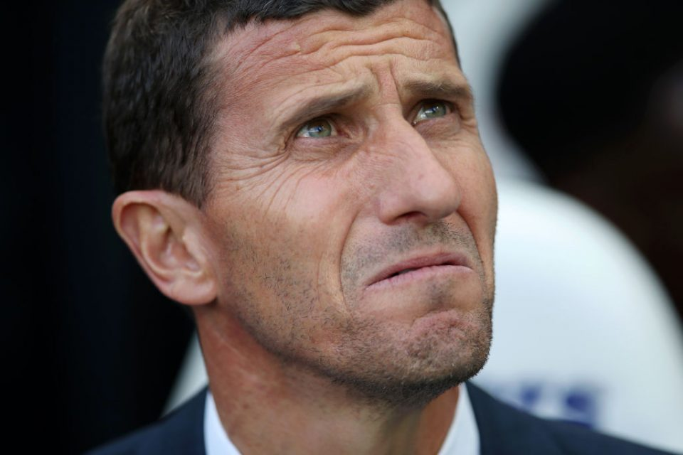 NEWCASTLE UPON TYNE, ENGLAND - AUGUST 31: Javi Gracia, Manager of Watford looks on prior to the Premier League match between Newcastle United and Watford FC at St. James Park on August 31, 2019 in Newcastle upon Tyne, United Kingdom. (Photo by Ian MacNicol/Getty Images)