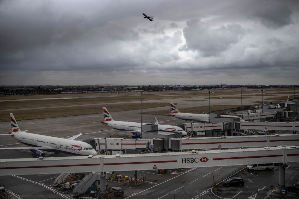 Heathrow drone protest: Airport 'remains open' as police make two arrests - CityAM