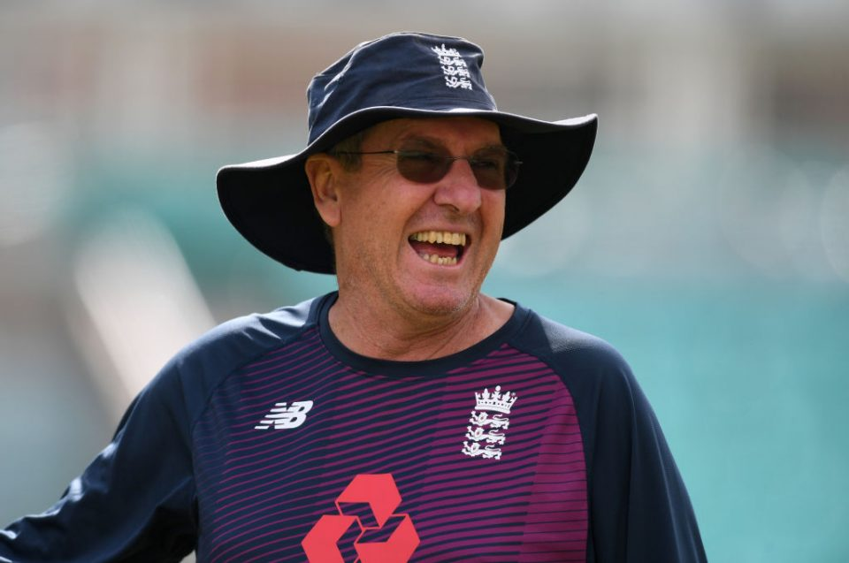 LONDON, ENGLAND - SEPTEMBER 10: Trevor Bayliss of England during a nets session at The Kia Oval on September 10, 2019 in London, England. (Photo by Gareth Copley/Getty Images)