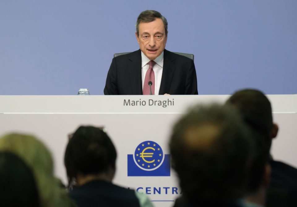 ECB chief Mario Draghi finishes his term on 31 October (Getty)
