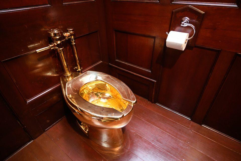 Golden toilet theft: Police arrest second man as hunt for Bleinheim Palace burgler goes on - CityAM
