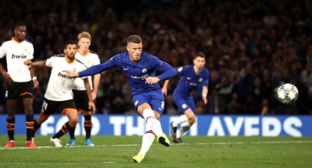 Chelsea 0-1 Valencia: Barkley misses late penalty as Blues fall flat at Stamford Bridge