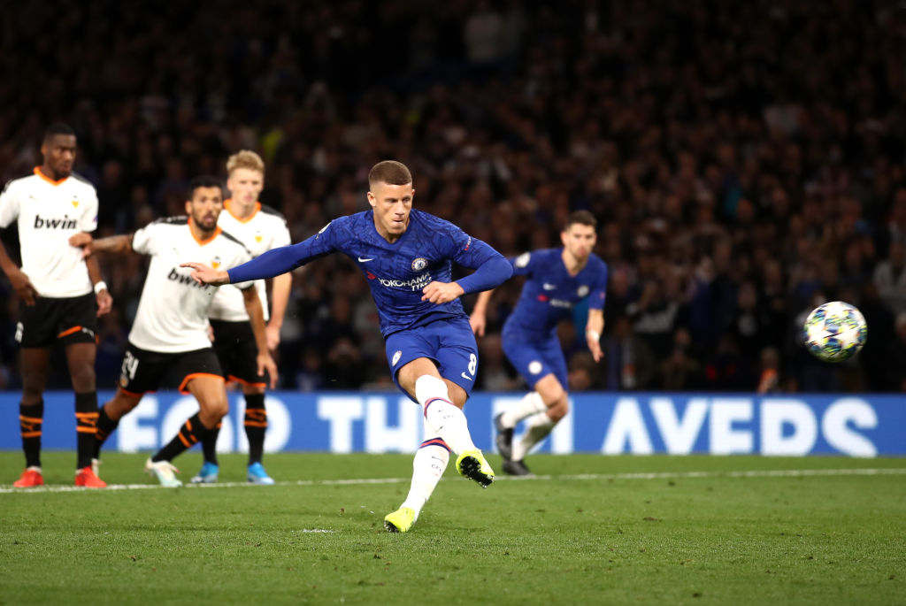 Chelsea 0-1 Valencia: Barkley misses penalty as Blues fall flat