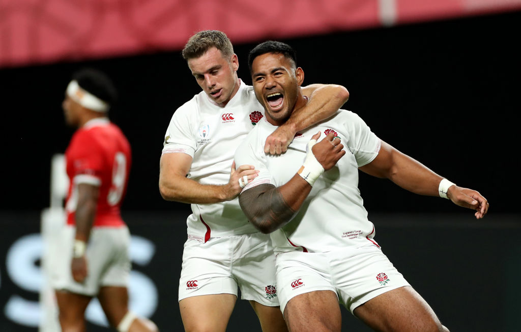 England kick way to Tonga win in World Cup opener but errors suggest work to be done still