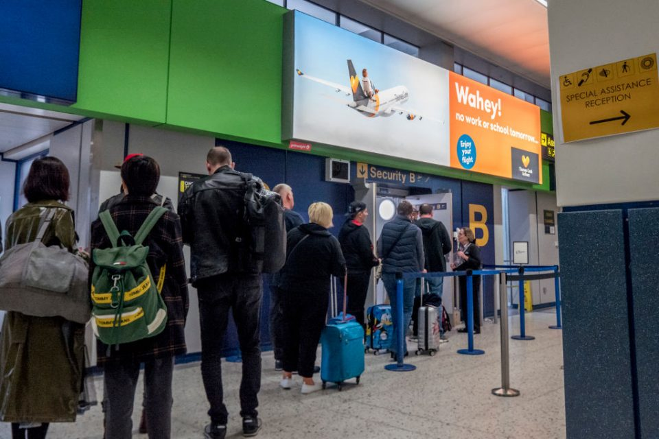 Thomas Cook customers abroad must now await government-chartered rescue flights