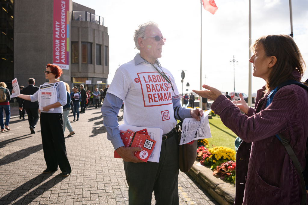 Labour conference latest: Unison urges members to back Remain