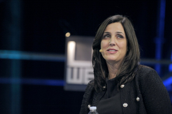 US Facebook' Vice-President and Marketing Director for EMEA (Europe, Middle East and Africa), US Joanna Shields, speaks during a plenary session of LeWeb 11 event in Saint-Denis, suburbs of Paris, on December 7, 2011. Around 3,000 participants from 60 countries around the world are expected at LeWeb. Top industry entrepreneurs, executives, investors, senior press & bloggers gather to explore the key issues and opportunities in the web marketplace. AFP PHOTO / ERIC PIERMONT (Photo credit should read ERIC PIERMONT/AFP/Getty Images)
