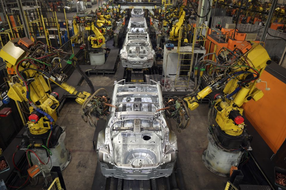 Manufacturing output hit its highest level in nearly two years in the three months to March in the clearest sign that a revival could be on the cards for the sector.