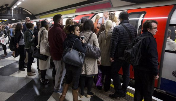 Tube delays hit three lines in rush hour