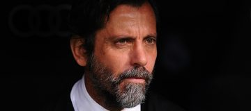 MADRID, SPAIN - FEBRUARY 18: Head coach Enrique Sanchez Flores of RCD Espanyol looks on before the the La Liga match between Real Madrid CF and RCD Espanyol at the Bernabeu stadium on February 18, 2017 in Madrid, Spain. (Photo by Denis Doyle/Getty Images)