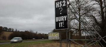 HS2 told to halt ancient woodlands clearance works pending review
