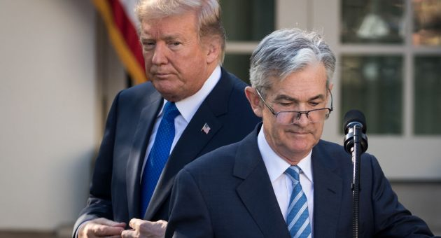 Trump says he won't fire Fed chair Powell (because he, er, can't)