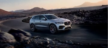 The Jaguar F-Pace SVR is a fire-breathing SUV brute. But Tim Pitt discovers its softer side