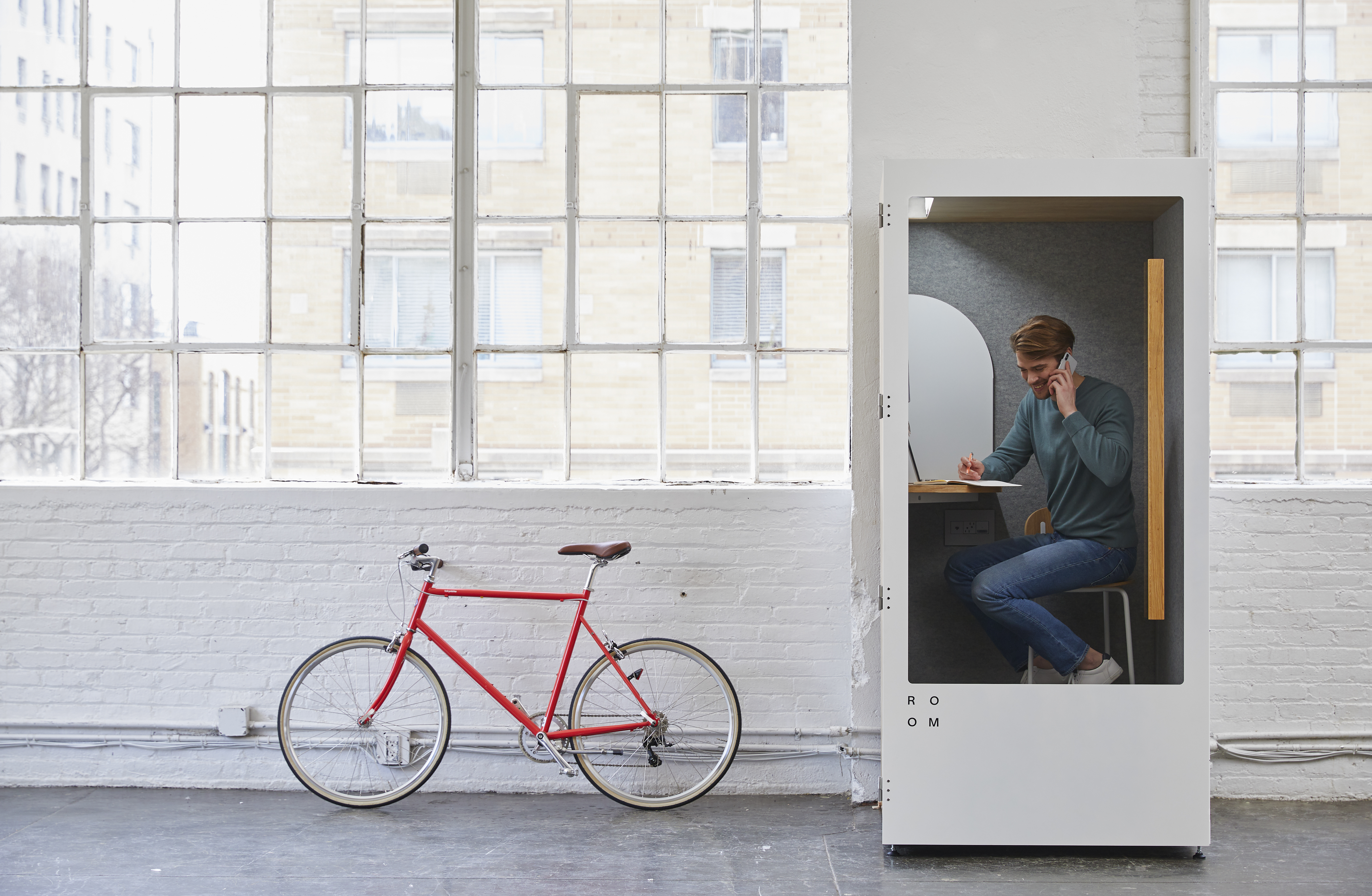 Phonebooth startup Room launches in UK as it dials in to coworking boom