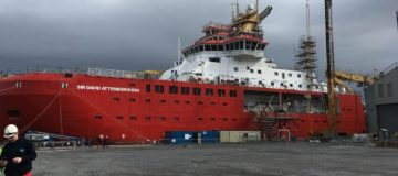 'Boaty McBoatface' ship gets official naming ceremony