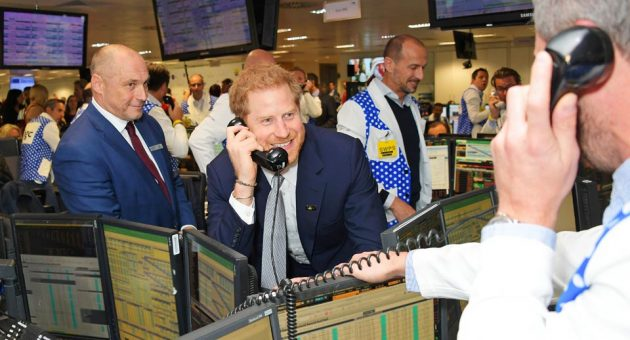 Celebrities take to the trading floor to raise money for charity