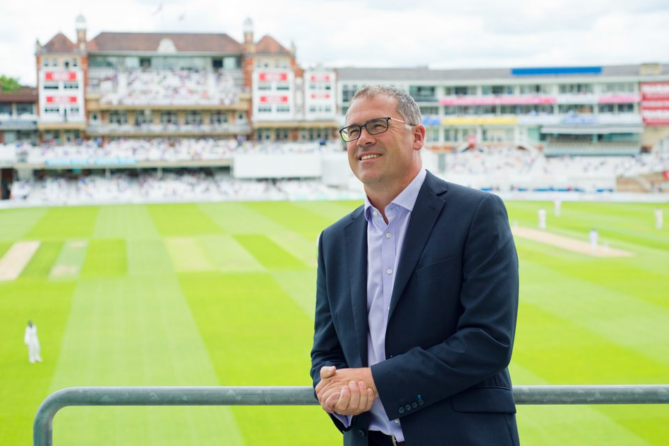 Richard Gould is Surrey's chief executive