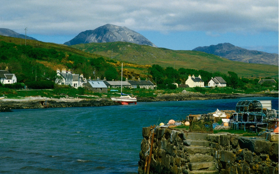 George Orwell wrote Nineteen Eighty-Four on this Hebridean island