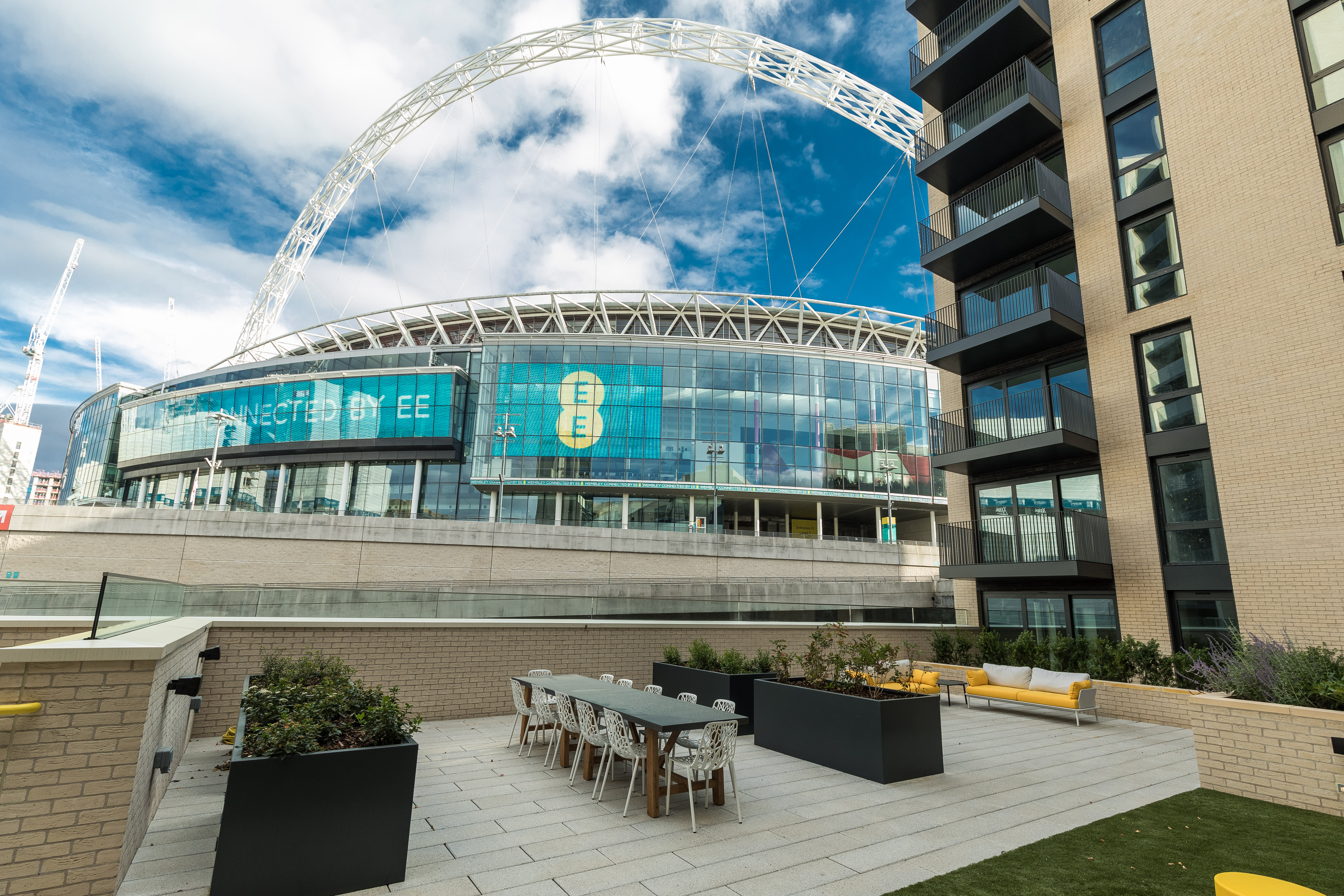 Your chance to live on Wembley Way