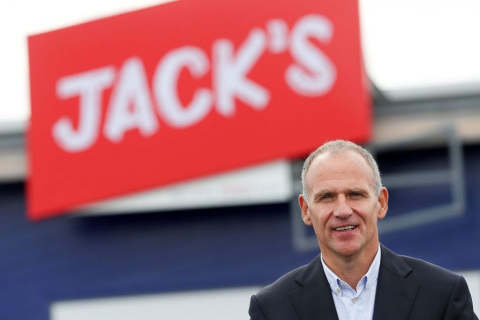 Tesco boss Dave Lewis launched budget supermarket chain Jack's earlier this year (Getty)