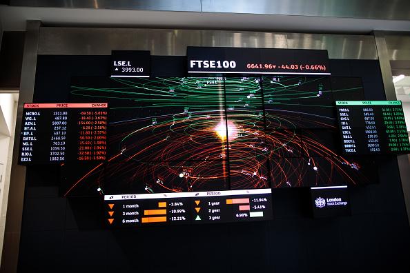 Britain's FTSE 100 indez