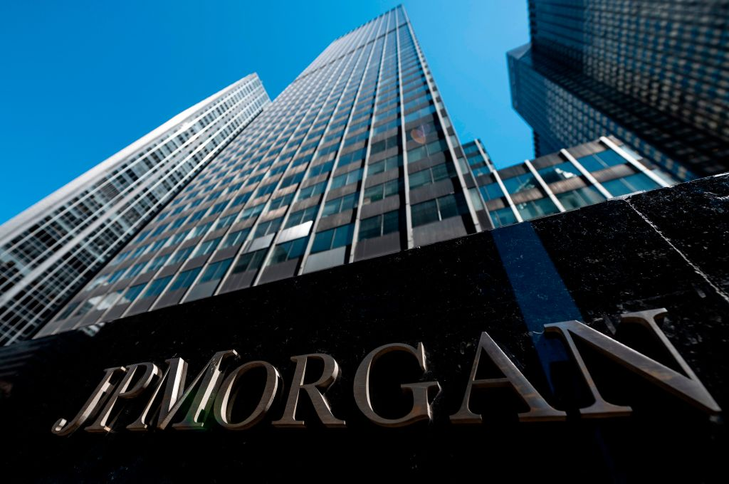 JP Morgan shares rise as strong consumer trading boosts third-quarter profit