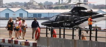 Uber takes to the skies with $200 JFK helicopter taxis