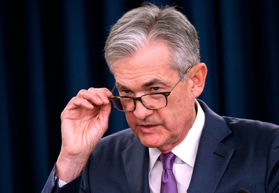 Donald Trump has put Federal Reserve boss Jerome Powell (pictured) under pressure to slash interest rates (Getty)