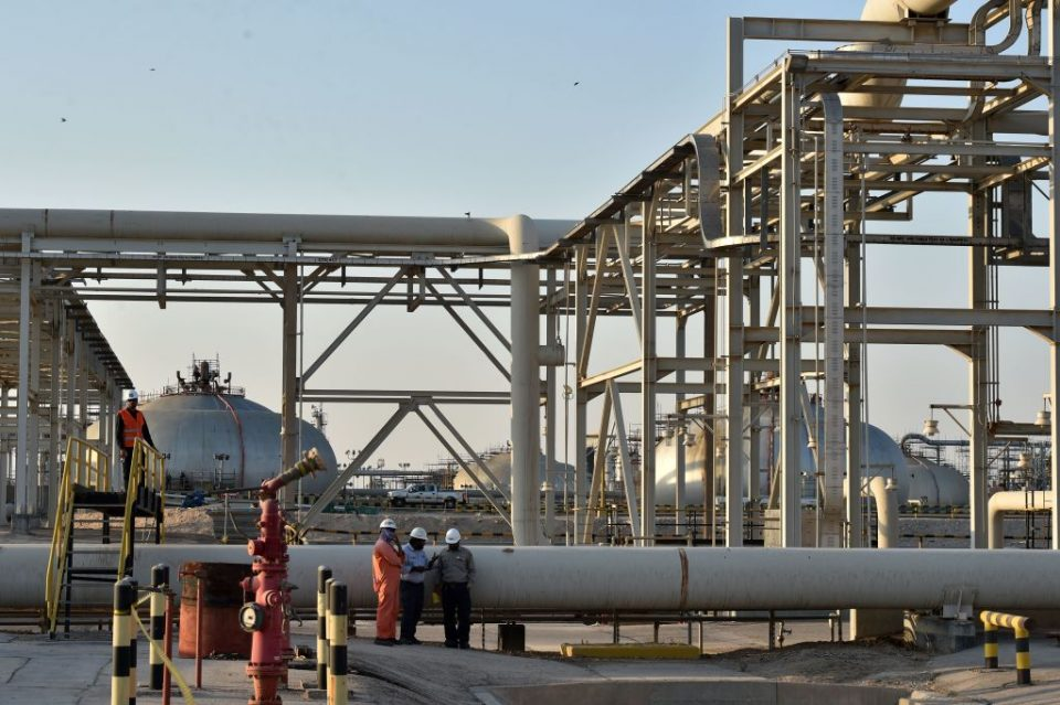 Saudi Aramco oil refinery