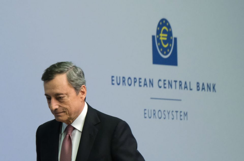 Mario Draghi's ECB reign ends with Eurozone 'close to stagnation'